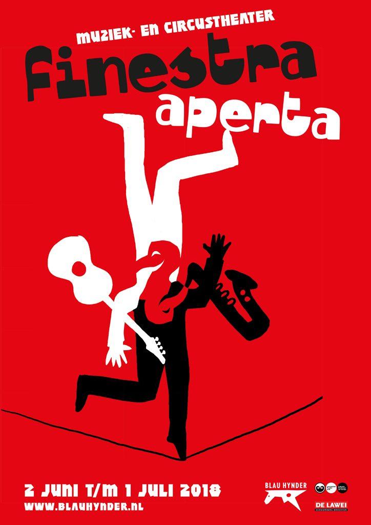 Finestra Aperta affiche Blau Hynder