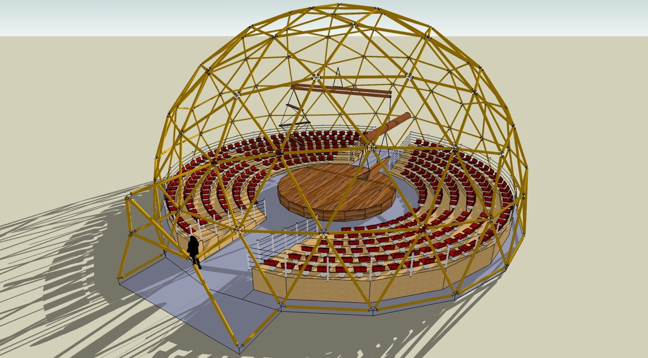 bamboe circus dome